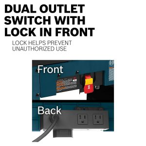 Bosch dual outlet