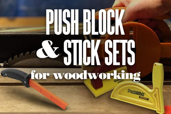 Push Block and Stick Set for Woodworking